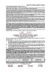 Offer Information Statement for Perennial 4-Year Retail Bonds