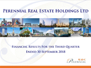Financial Results For The Third Quarter Ended 30 September 2018