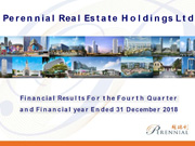 Financial Results For The Fourth Quarter And Financial Year Ended 31 December 2018